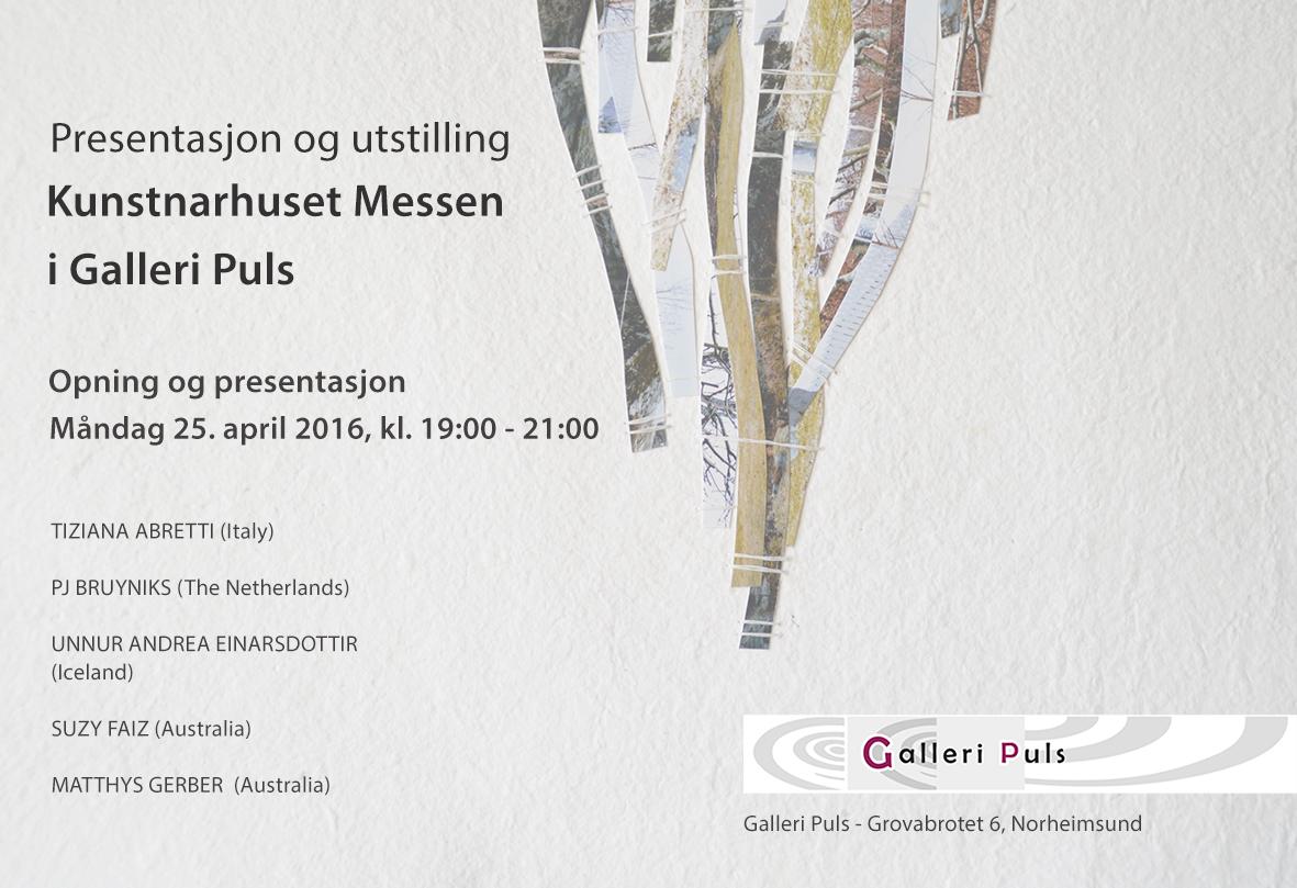 Exhibition Abretti Conteporary Art Gallery Puls Norheimsund