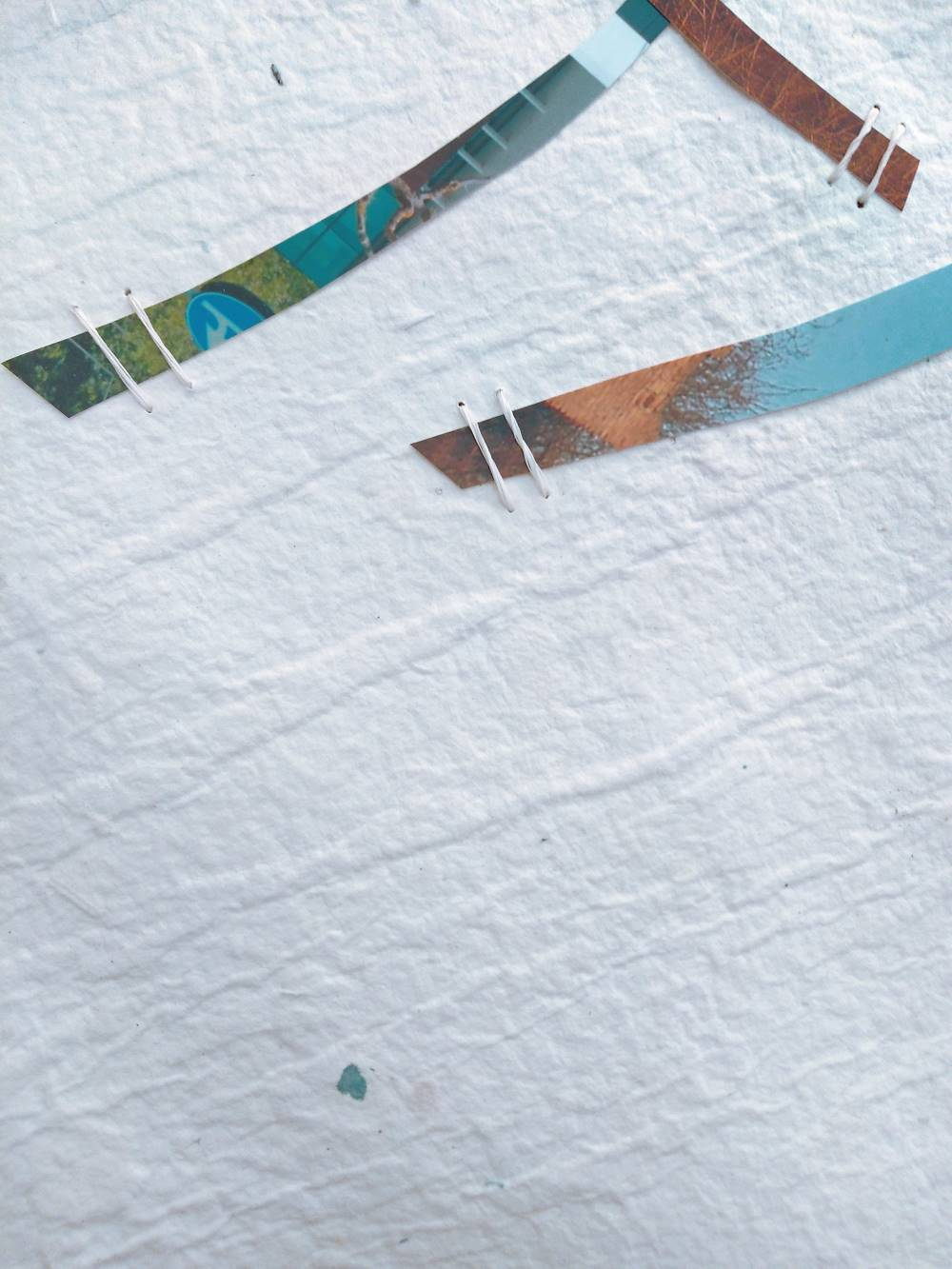 Tiziana Abretti Opere Carta Fotografia Fiber Art